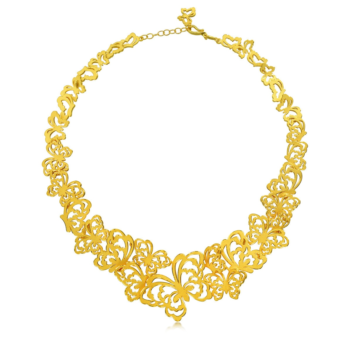 Chinese Wedding Collection \'Love Symbol\' 999.9 Gold Necklace ...