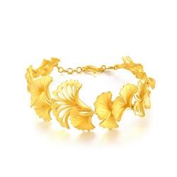 「花卉篇」999.9黃金手鍊