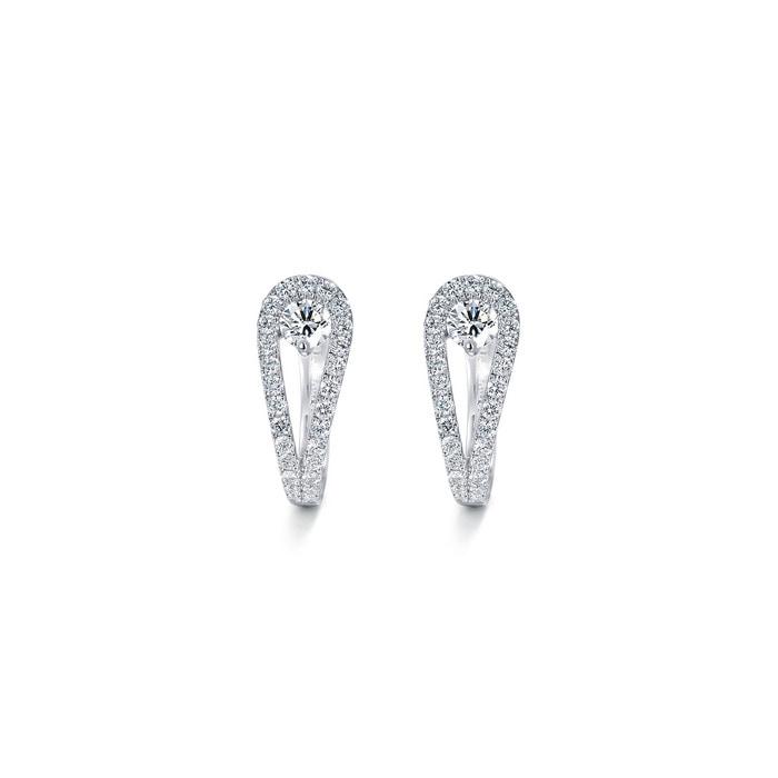 18K黃金鑽石耳環
