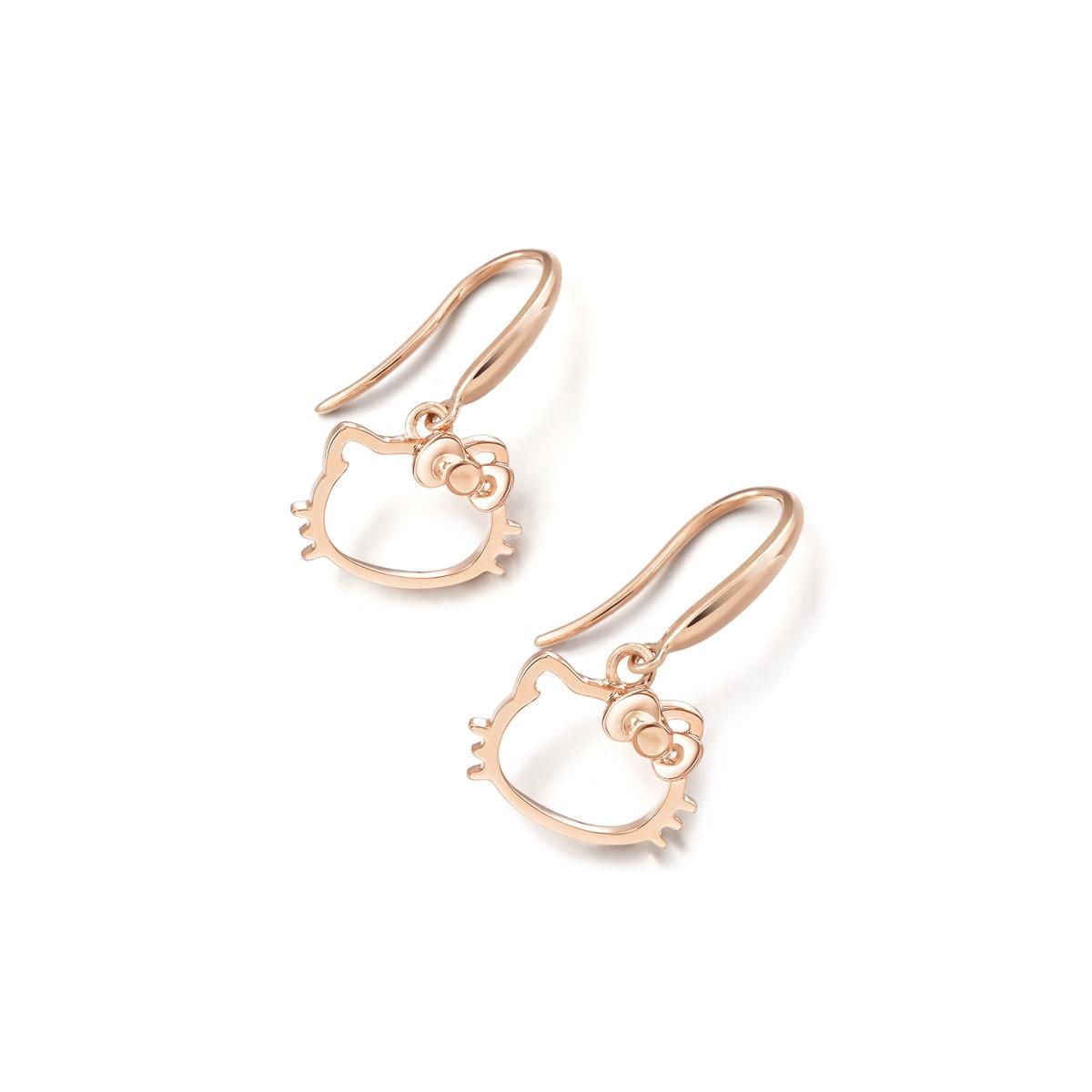 Sanrio \'Hello Kitty\' 18K Gold Earrings | Chow Sang Sang Jewellery ...