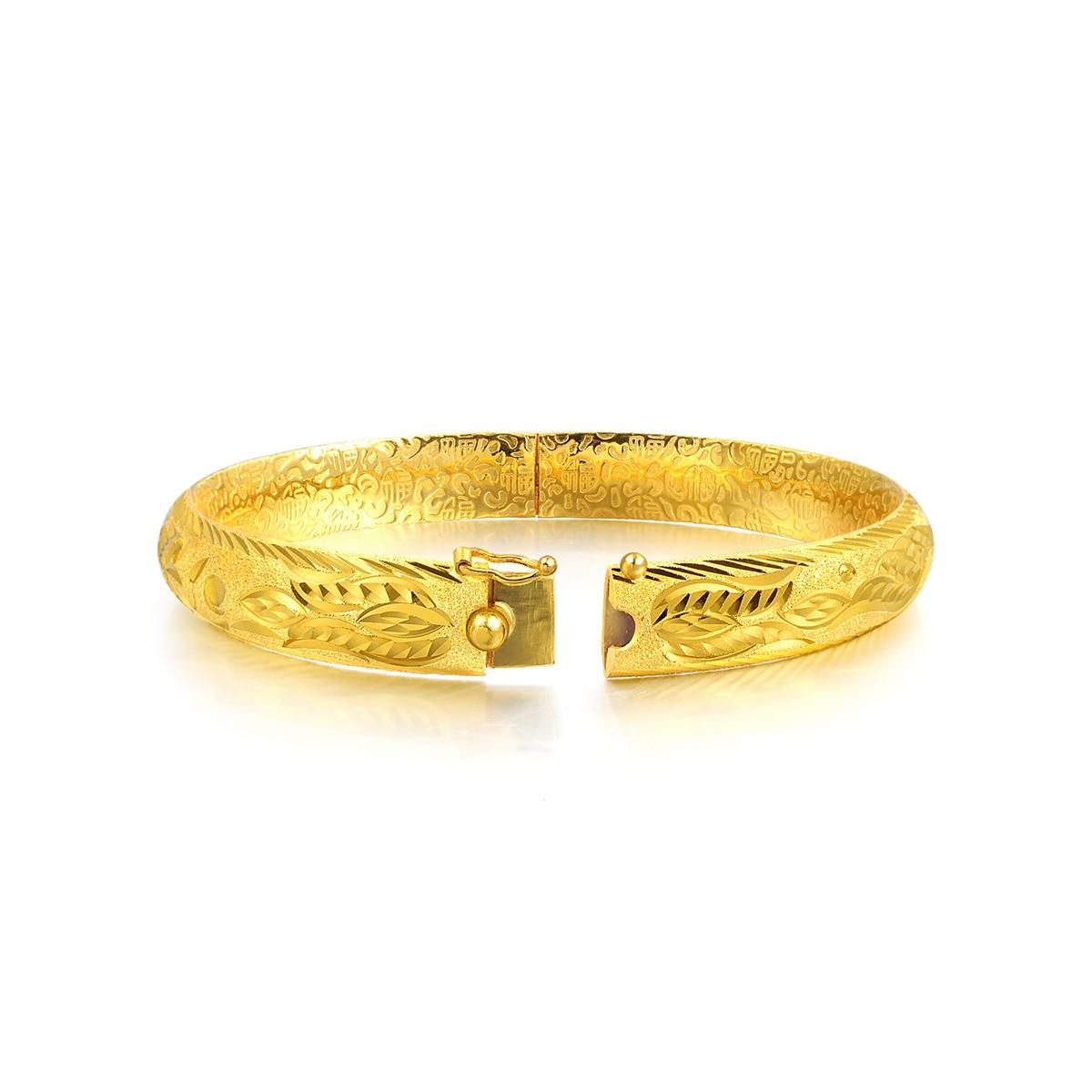 9999 Gold Dragon Phoenix Bangle Chow Sang Sang Jewellery eShop