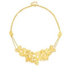 「花卉篇」999.9黃金頸鍊