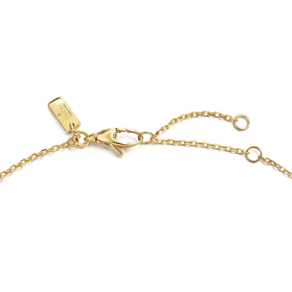 b85666cda1 Gucci Diamantissima 18K Gold Necklace   Chow Sang Sang Jewellery eShop
