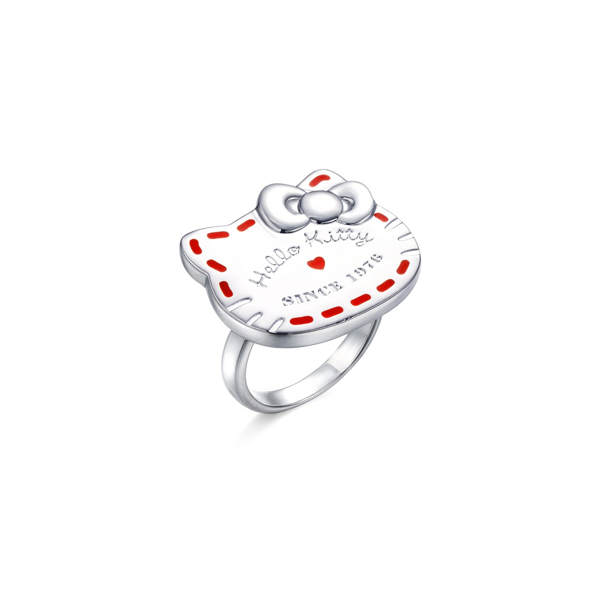 b3a7d62cf Sanrio 'Hello Kitty' Sterling Silver Ring. $800. Share. Previous. Loading  zoom