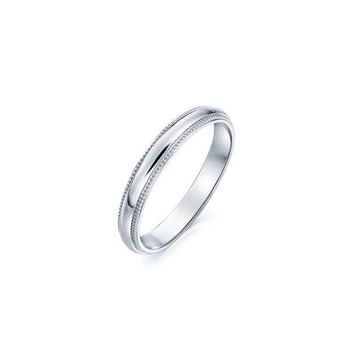 「小皇冠」950鉑金戒指