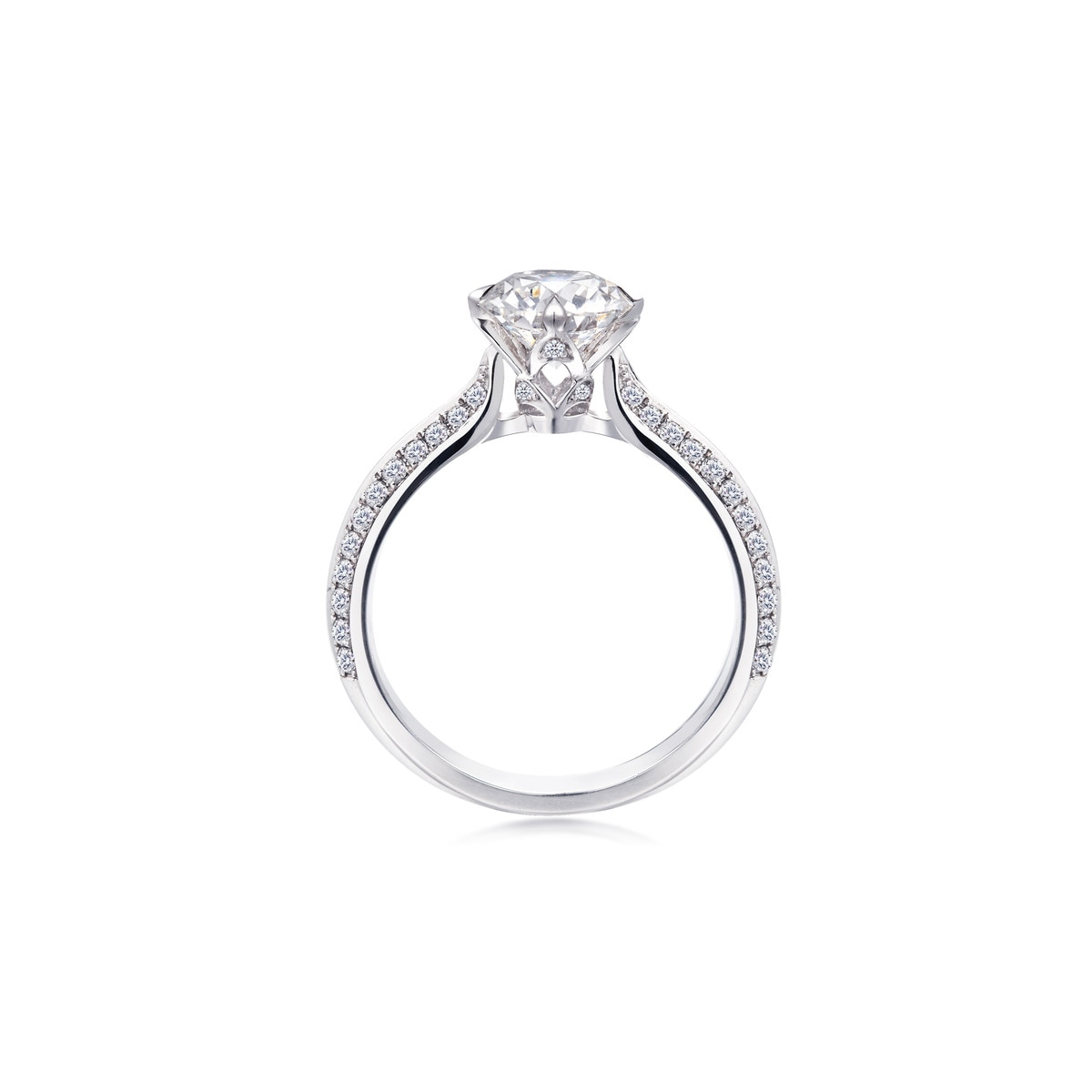 love ring infini above hk gemstone ild platinum cut a eshop en collection diamond bridal jewellery p product prd