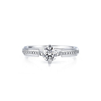 Engagement Rings Ideas De Beers Classic Pave Oval Cut Solitaire